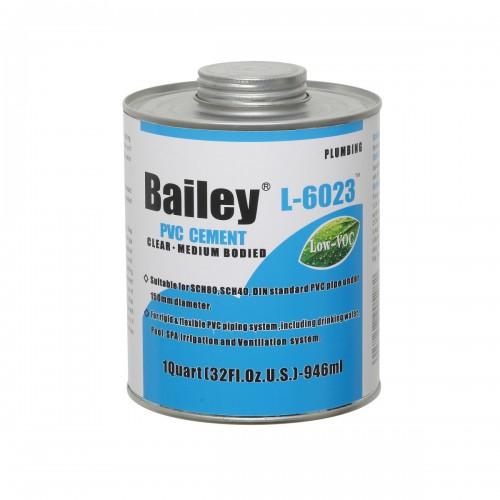 Клей для ПВХ Bailey 946 ml (с кистью)